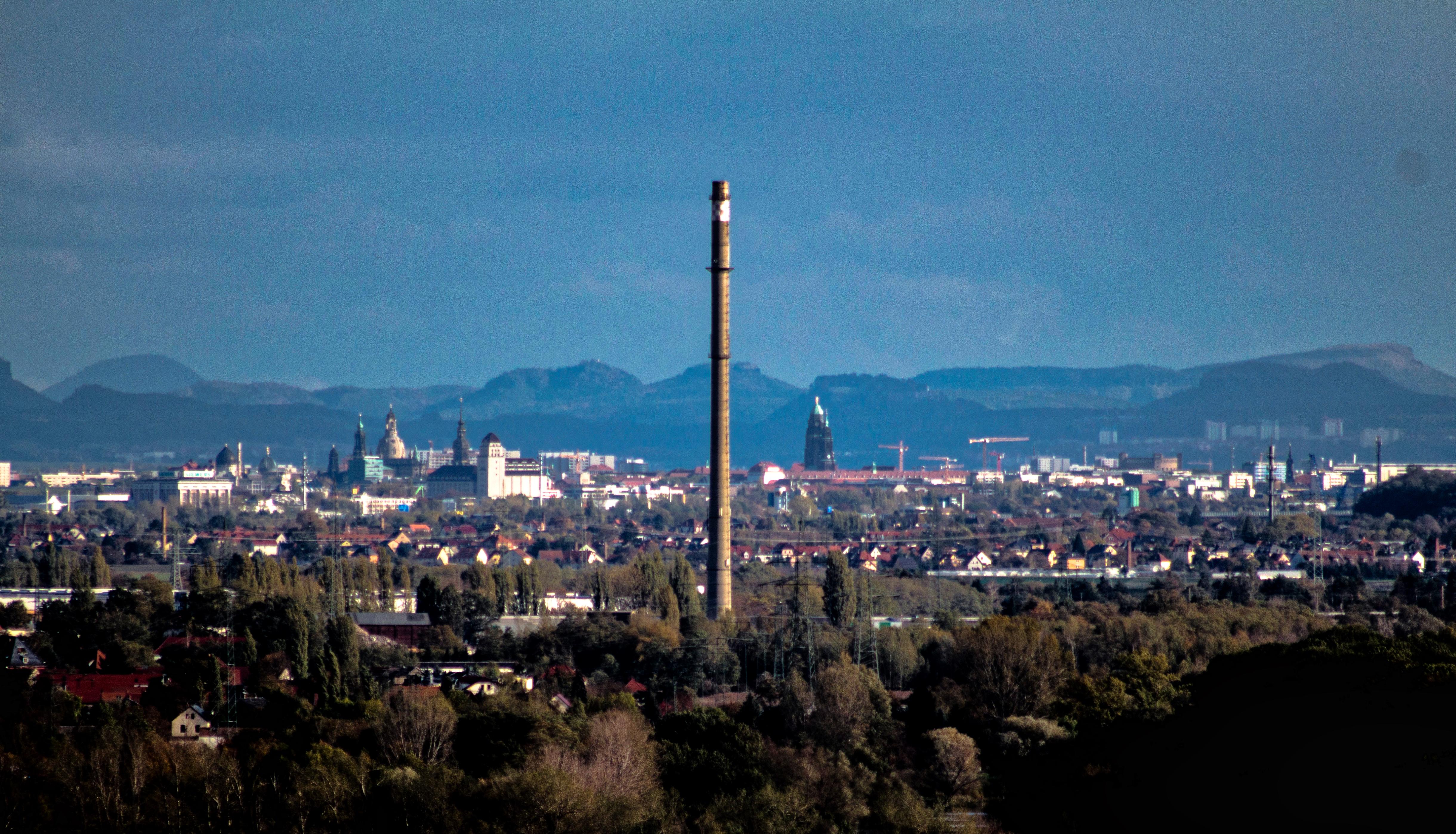 Dresden - Blick aus Richtung Meissen