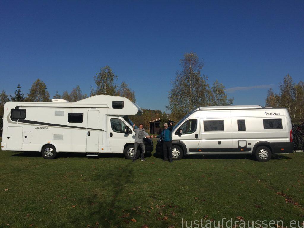 Weinsberg und Clever Van Runner 636