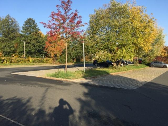 Johannesbad Freiberg PKW Parkplatz